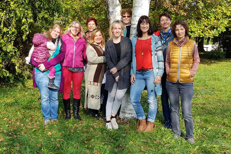 Gruppenbild Teilnehmer Resilienzseminar in Weßling