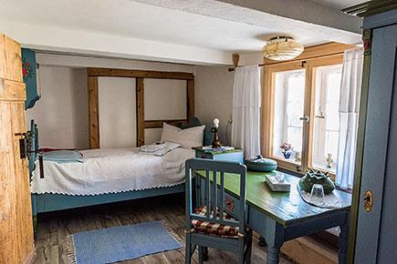 Minneken Hus - blaues Zimmer