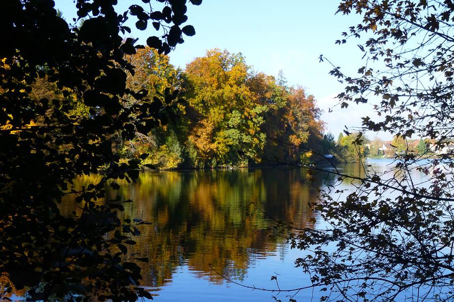 Spiegelungen am Weßlinger See